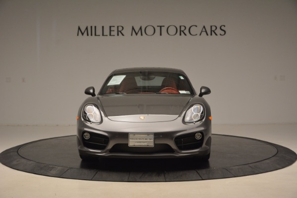 Used 2014 Porsche Cayman S S for sale Sold at Rolls-Royce Motor Cars Greenwich in Greenwich CT 06830 12