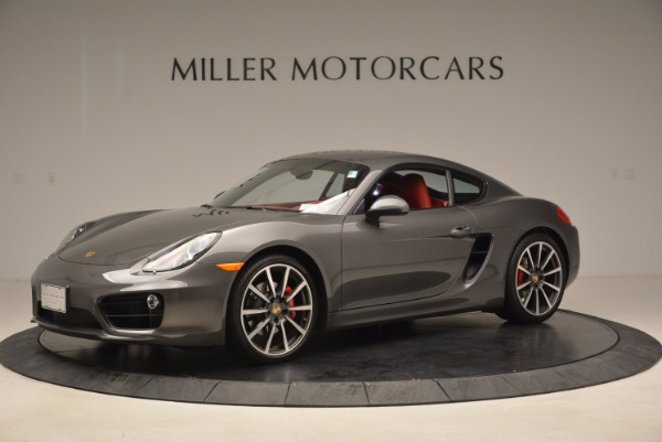 Used 2014 Porsche Cayman S S for sale Sold at Rolls-Royce Motor Cars Greenwich in Greenwich CT 06830 2