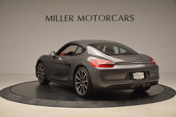 Used 2014 Porsche Cayman S S for sale Sold at Rolls-Royce Motor Cars Greenwich in Greenwich CT 06830 5