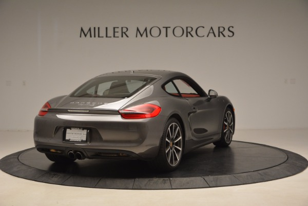 Used 2014 Porsche Cayman S S for sale Sold at Rolls-Royce Motor Cars Greenwich in Greenwich CT 06830 7