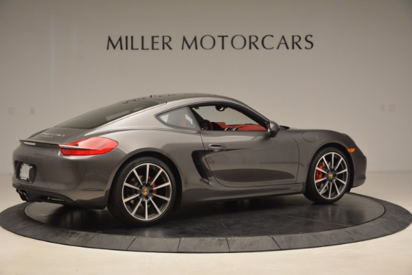 Used 2014 Porsche Cayman S S for sale Sold at Rolls-Royce Motor Cars Greenwich in Greenwich CT 06830 8
