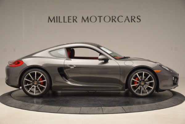 Used 2014 Porsche Cayman S S for sale Sold at Rolls-Royce Motor Cars Greenwich in Greenwich CT 06830 9