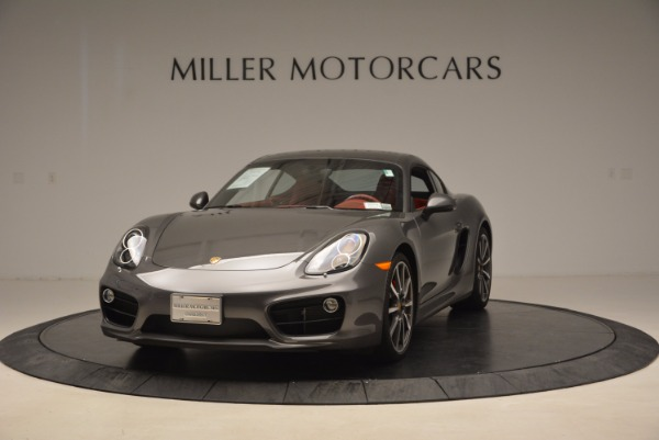 Used 2014 Porsche Cayman S S for sale Sold at Rolls-Royce Motor Cars Greenwich in Greenwich CT 06830 1