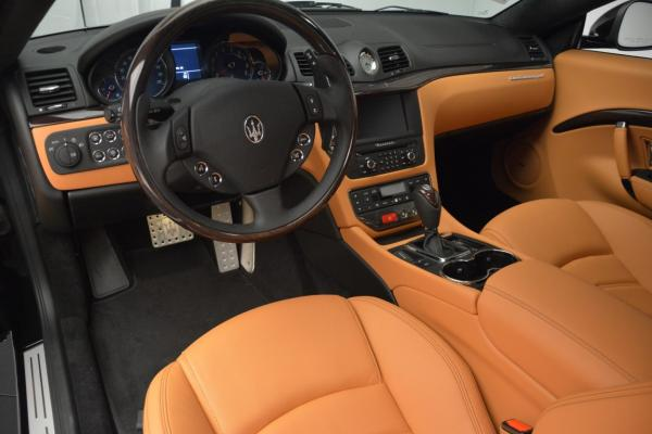 New 2016 Maserati GranTurismo Sport for sale Sold at Rolls-Royce Motor Cars Greenwich in Greenwich CT 06830 15