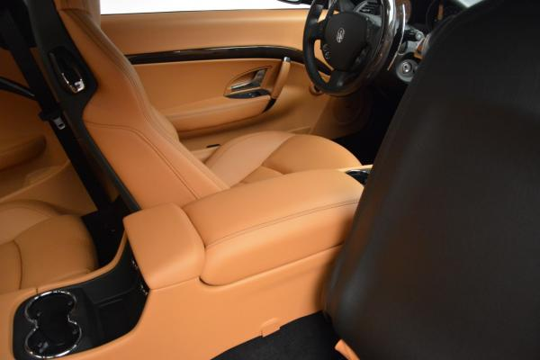 New 2016 Maserati GranTurismo Sport for sale Sold at Rolls-Royce Motor Cars Greenwich in Greenwich CT 06830 24