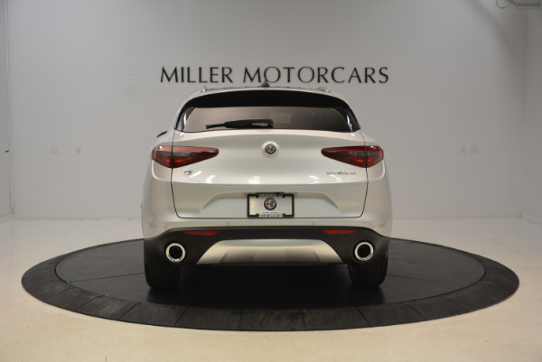 New 2018 Alfa Romeo Stelvio Q4 for sale Sold at Rolls-Royce Motor Cars Greenwich in Greenwich CT 06830 6