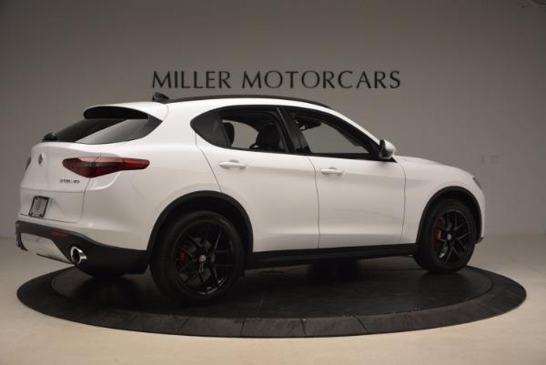 New 2018 Alfa Romeo Stelvio Sport Q4 for sale Sold at Rolls-Royce Motor Cars Greenwich in Greenwich CT 06830 8