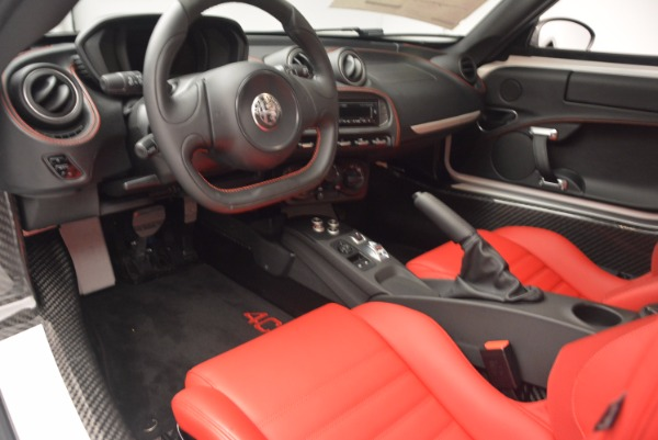 New 2018 Alfa Romeo 4C Coupe for sale Sold at Rolls-Royce Motor Cars Greenwich in Greenwich CT 06830 13