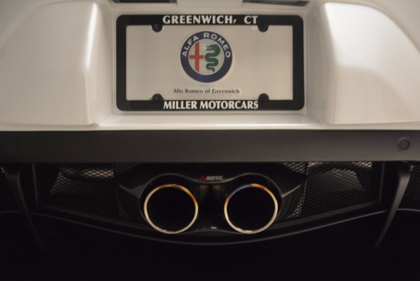 New 2018 Alfa Romeo 4C Coupe for sale Sold at Rolls-Royce Motor Cars Greenwich in Greenwich CT 06830 22