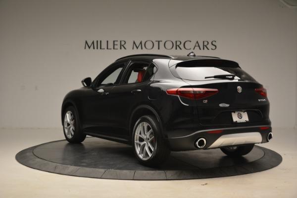 New 2018 Alfa Romeo Stelvio Sport Q4 for sale Sold at Rolls-Royce Motor Cars Greenwich in Greenwich CT 06830 5