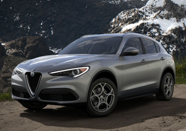 New 2018 Alfa Romeo Stelvio Ti Q4 for sale Sold at Rolls-Royce Motor Cars Greenwich in Greenwich CT 06830 1