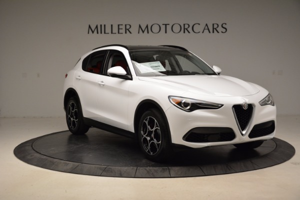 New 2018 Alfa Romeo Stelvio Sport Q4 for sale Sold at Rolls-Royce Motor Cars Greenwich in Greenwich CT 06830 11