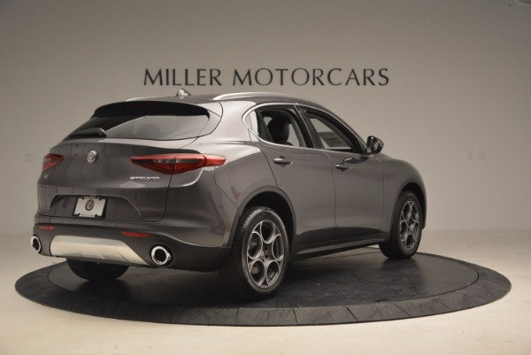 New 2018 Alfa Romeo Stelvio Q4 for sale Sold at Rolls-Royce Motor Cars Greenwich in Greenwich CT 06830 7