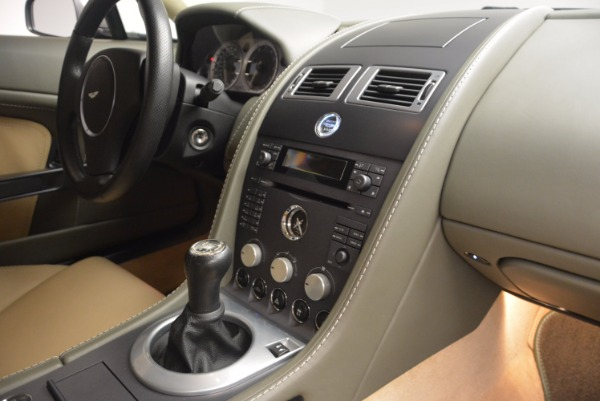 Used 2006 Aston Martin V8 Vantage for sale Sold at Rolls-Royce Motor Cars Greenwich in Greenwich CT 06830 16