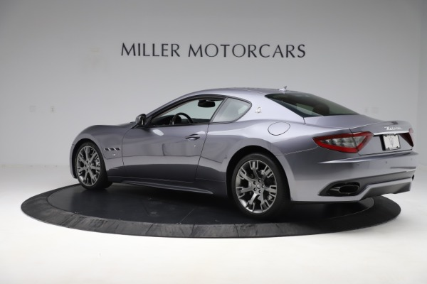 Used 2016 Maserati GranTurismo Sport for sale Sold at Rolls-Royce Motor Cars Greenwich in Greenwich CT 06830 4
