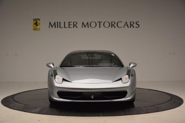 Used 2014 Ferrari 458 Italia for sale Sold at Rolls-Royce Motor Cars Greenwich in Greenwich CT 06830 12