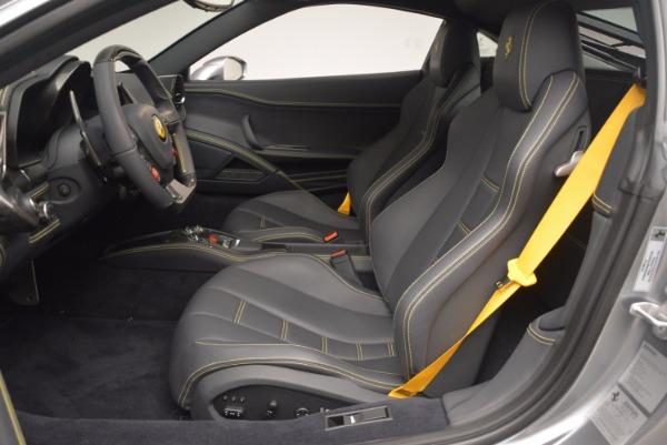 Used 2014 Ferrari 458 Italia for sale Sold at Rolls-Royce Motor Cars Greenwich in Greenwich CT 06830 14