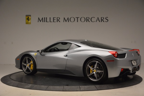 Used 2014 Ferrari 458 Italia for sale Sold at Rolls-Royce Motor Cars Greenwich in Greenwich CT 06830 4