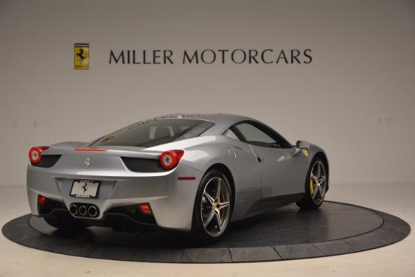 Used 2014 Ferrari 458 Italia for sale Sold at Rolls-Royce Motor Cars Greenwich in Greenwich CT 06830 7