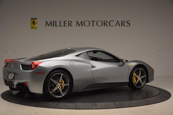 Used 2014 Ferrari 458 Italia for sale Sold at Rolls-Royce Motor Cars Greenwich in Greenwich CT 06830 8