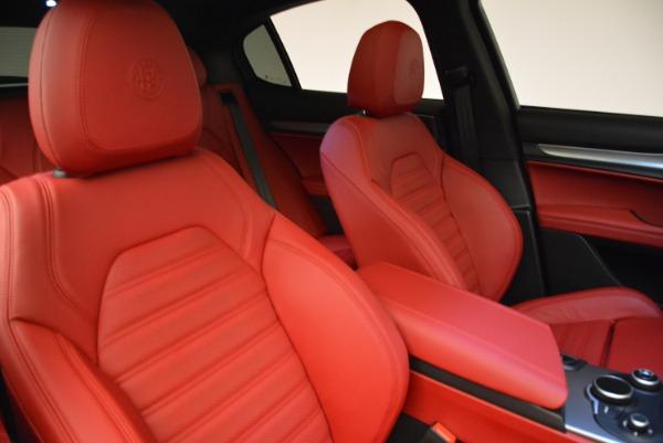 New 2018 Alfa Romeo Stelvio Ti Q4 for sale Sold at Rolls-Royce Motor Cars Greenwich in Greenwich CT 06830 21