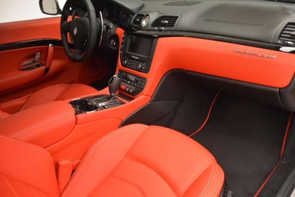 New 2017 Maserati GranTurismo Sport for sale Sold at Rolls-Royce Motor Cars Greenwich in Greenwich CT 06830 19
