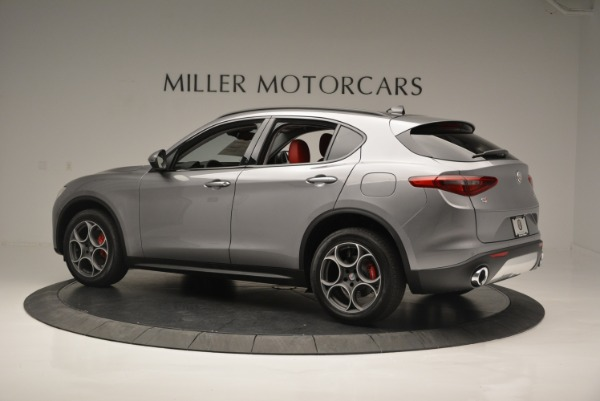 New 2018 Alfa Romeo Stelvio Sport Q4 for sale Sold at Rolls-Royce Motor Cars Greenwich in Greenwich CT 06830 3