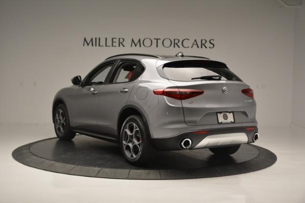 New 2018 Alfa Romeo Stelvio Sport Q4 for sale Sold at Rolls-Royce Motor Cars Greenwich in Greenwich CT 06830 4