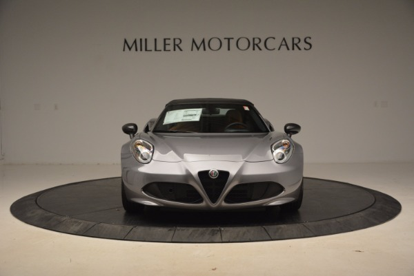 New 2018 Alfa Romeo 4C Spider for sale Sold at Rolls-Royce Motor Cars Greenwich in Greenwich CT 06830 22