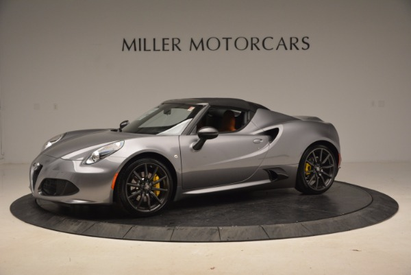 New 2018 Alfa Romeo 4C Spider for sale Sold at Rolls-Royce Motor Cars Greenwich in Greenwich CT 06830 4