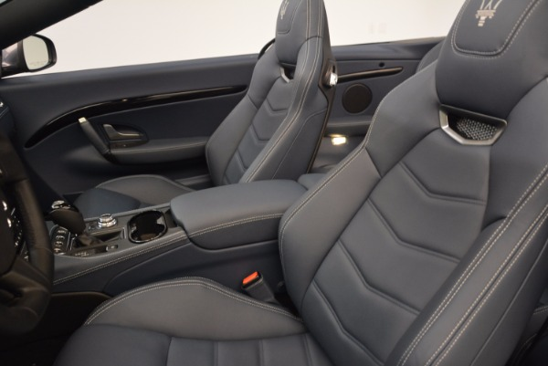 Used 2018 Maserati GranTurismo Sport Convertible for sale Sold at Rolls-Royce Motor Cars Greenwich in Greenwich CT 06830 26