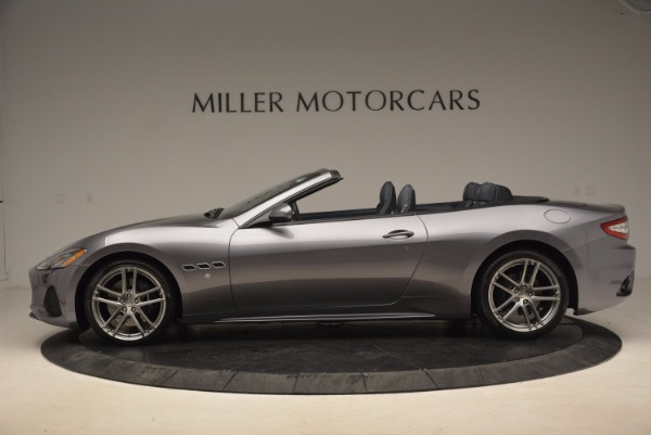Used 2018 Maserati GranTurismo Sport Convertible for sale Sold at Rolls-Royce Motor Cars Greenwich in Greenwich CT 06830 5