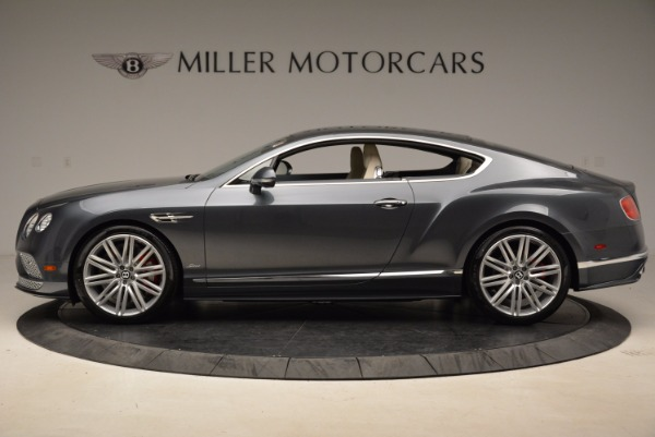 New 2017 Bentley Continental GT Speed for sale Sold at Rolls-Royce Motor Cars Greenwich in Greenwich CT 06830 3