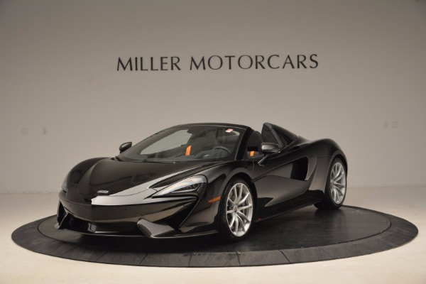 Used 2018 McLaren 570S Spider for sale Sold at Rolls-Royce Motor Cars Greenwich in Greenwich CT 06830 1