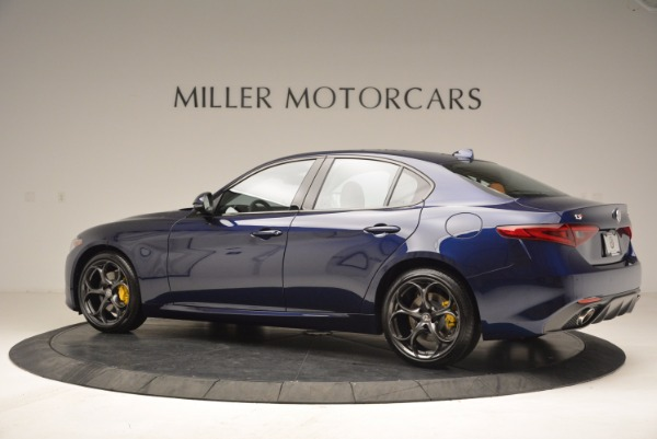 New 2018 Alfa Romeo Giulia Ti Sport Q4 for sale Sold at Rolls-Royce Motor Cars Greenwich in Greenwich CT 06830 4