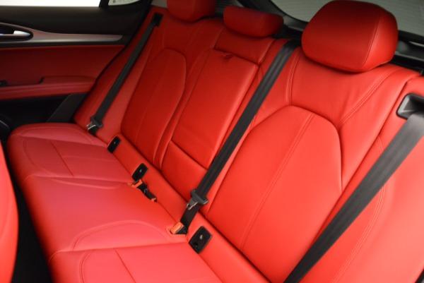 New 2018 Alfa Romeo Stelvio Sport Q4 for sale Sold at Rolls-Royce Motor Cars Greenwich in Greenwich CT 06830 18