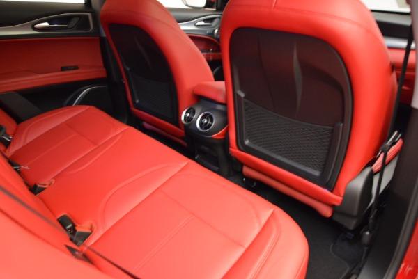 New 2018 Alfa Romeo Stelvio Sport Q4 for sale Sold at Rolls-Royce Motor Cars Greenwich in Greenwich CT 06830 22