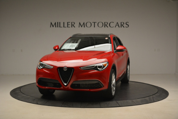New 2018 Alfa Romeo Stelvio Q4 for sale Sold at Rolls-Royce Motor Cars Greenwich in Greenwich CT 06830 1