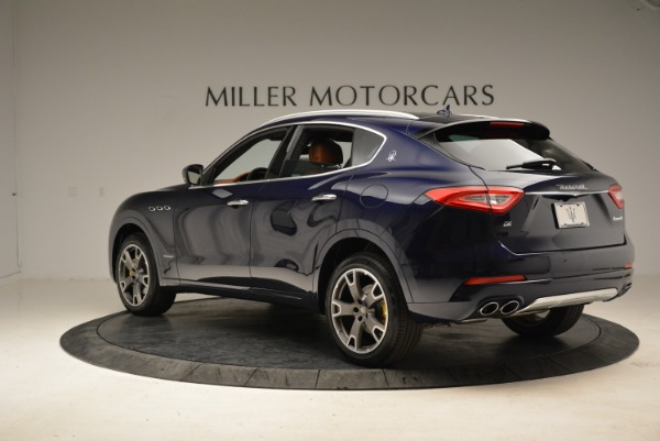 New 2018 Maserati Levante Q4 GranLusso for sale Sold at Rolls-Royce Motor Cars Greenwich in Greenwich CT 06830 6