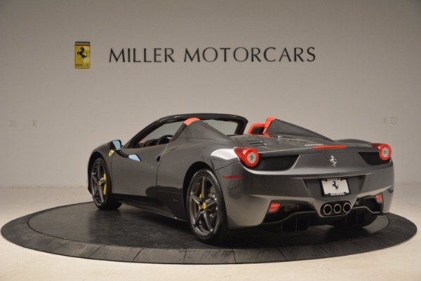 Used 2014 Ferrari 458 Spider for sale Sold at Rolls-Royce Motor Cars Greenwich in Greenwich CT 06830 5