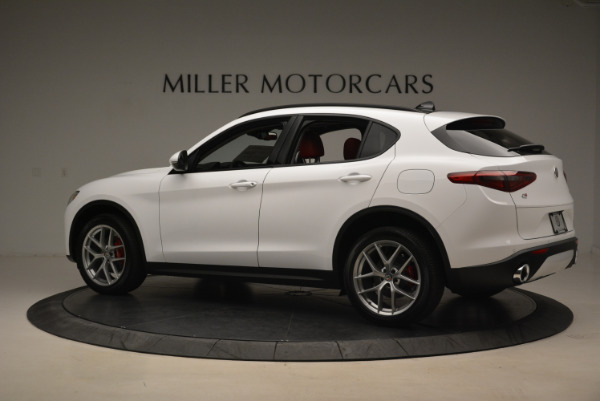 New 2018 Alfa Romeo Stelvio Sport Q4 for sale Sold at Rolls-Royce Motor Cars Greenwich in Greenwich CT 06830 4