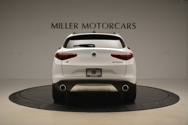 New 2018 Alfa Romeo Stelvio Sport Q4 for sale Sold at Rolls-Royce Motor Cars Greenwich in Greenwich CT 06830 6