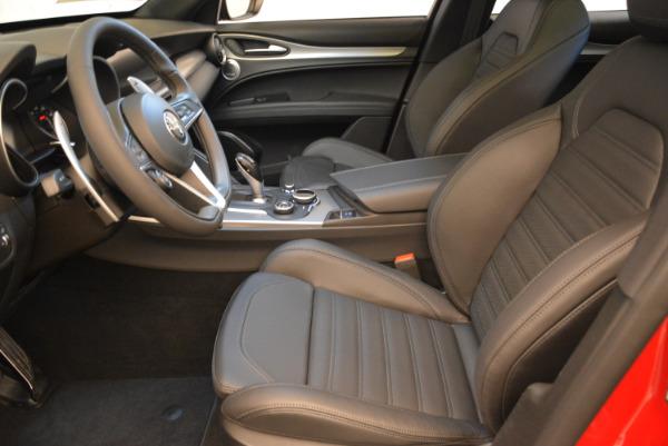 New 2018 Alfa Romeo Stelvio Ti Sport Q4 for sale Sold at Rolls-Royce Motor Cars Greenwich in Greenwich CT 06830 14