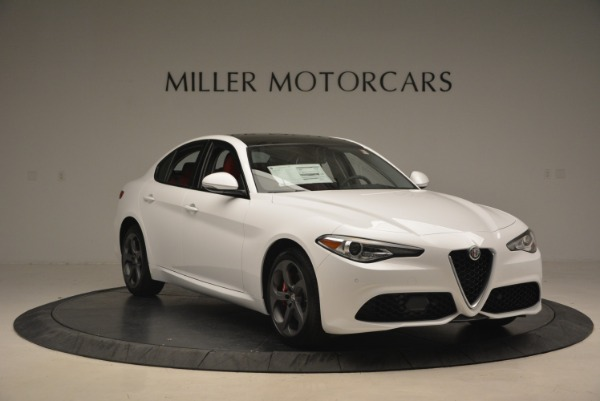 New 2018 Alfa Romeo Giulia Ti Sport Q4 for sale Sold at Rolls-Royce Motor Cars Greenwich in Greenwich CT 06830 12