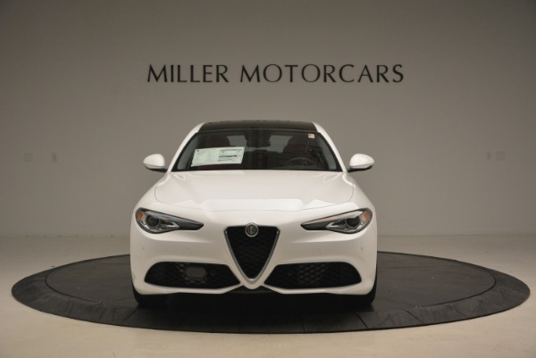 New 2018 Alfa Romeo Giulia Ti Sport Q4 for sale Sold at Rolls-Royce Motor Cars Greenwich in Greenwich CT 06830 13
