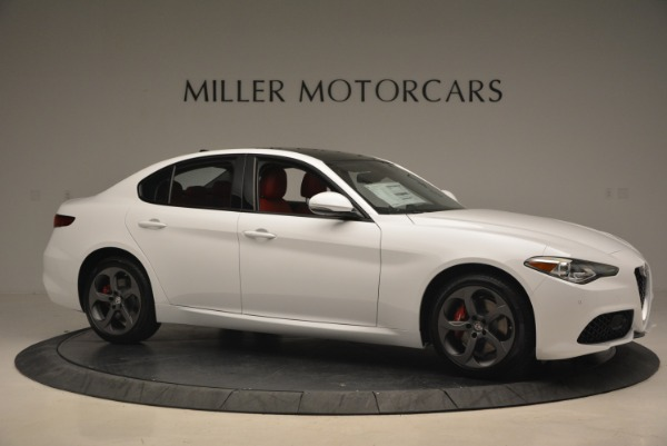New 2018 Alfa Romeo Giulia Sport Q4 for sale Sold at Rolls-Royce Motor Cars Greenwich in Greenwich CT 06830 11