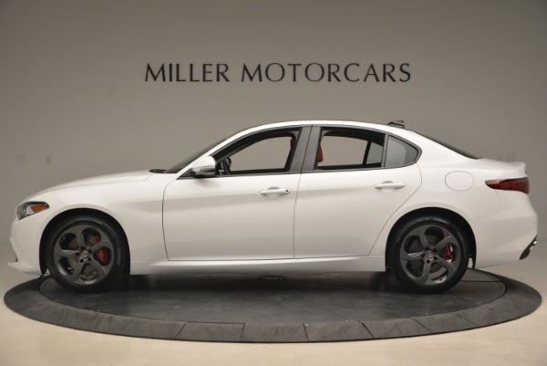New 2018 Alfa Romeo Giulia Sport Q4 for sale Sold at Rolls-Royce Motor Cars Greenwich in Greenwich CT 06830 3