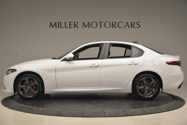 New 2018 Alfa Romeo Giulia Sport Q4 for sale Sold at Rolls-Royce Motor Cars Greenwich in Greenwich CT 06830 4