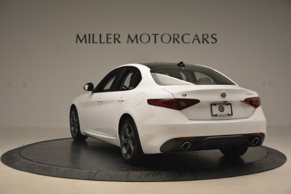 New 2018 Alfa Romeo Giulia Sport Q4 for sale Sold at Rolls-Royce Motor Cars Greenwich in Greenwich CT 06830 6
