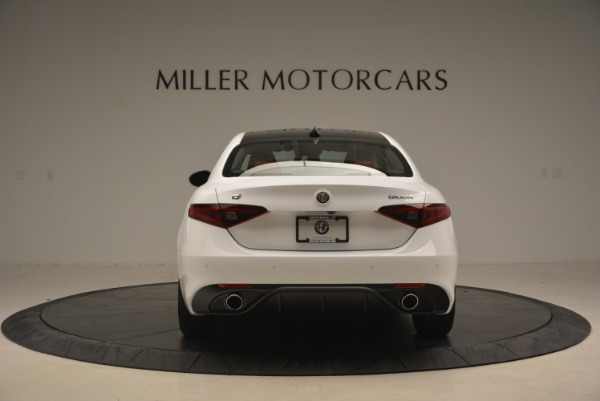 New 2018 Alfa Romeo Giulia Sport Q4 for sale Sold at Rolls-Royce Motor Cars Greenwich in Greenwich CT 06830 7